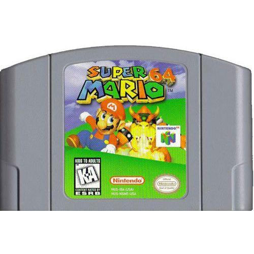 Super Mario 64 N64 Game Nintendo 64 Games Nintendo 64 Super Mario