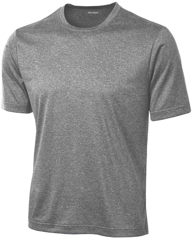 fa198814333 DRI-EQUIP(tm) Men s Short Sleeve Moisture Wicking T-Shirt-VintageHeather