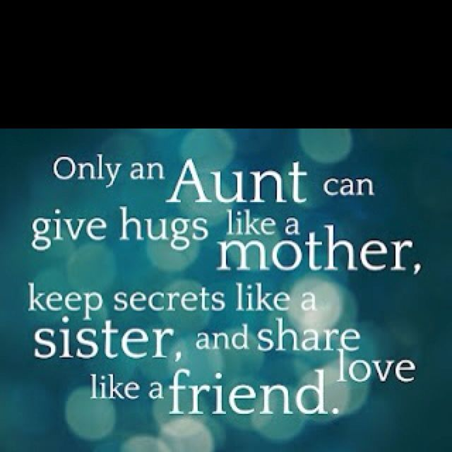 Aunties! I love my nieces and nephew!!!& My girls love their ...
