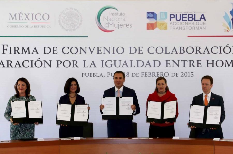 Convenio para implementar políticas públicas y acciones que empoderen a la mujer poblana - http://plenilunia.com/noticias-2/convenio-para-implementar-politicas-publicas-y-acciones-que-empoderen-a-la-mujer-poblana/33498/