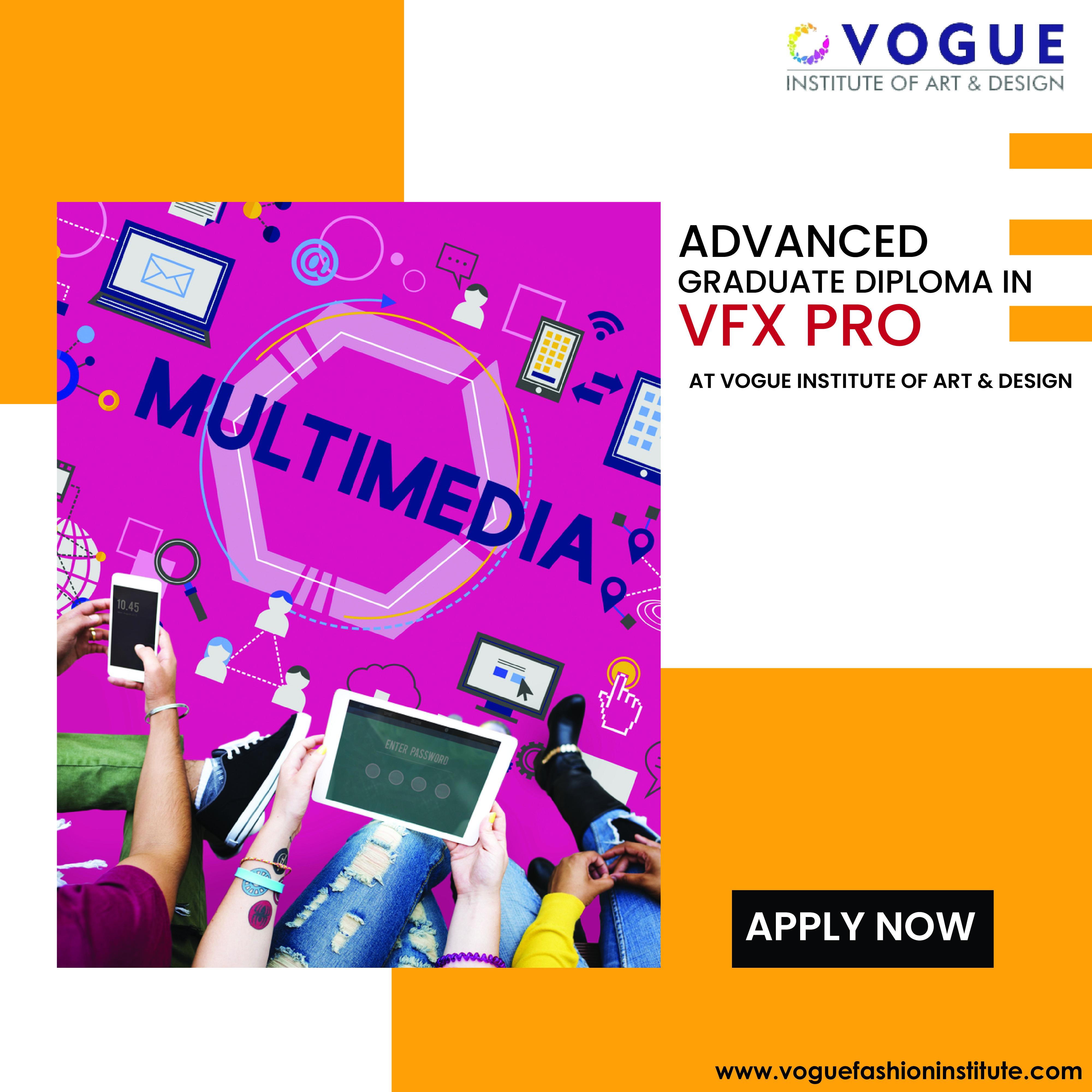 Advance Graduate Diploma In Vfx Pro Learn Animation Art Design