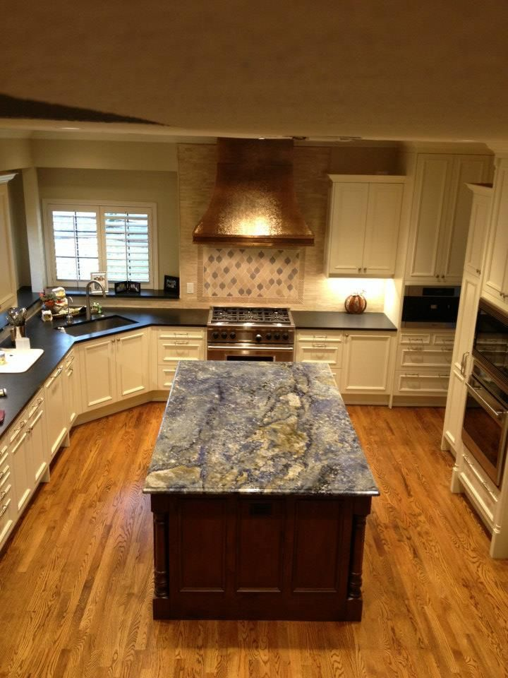Blue Bahia Granite Kitchen Countertops Granite