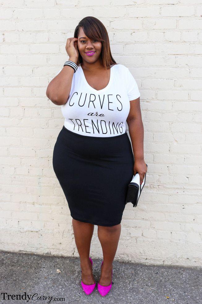 Trending Topic | Curvy Girls | Fashion, Curvy plus size ...
