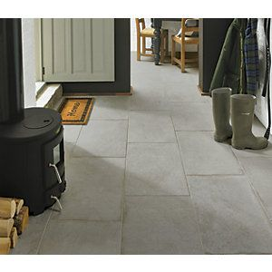 Wickes Como Limestone Porcelain Wall Floor Tile 600 X 400mm Limestone Flooring Limestone Tile Tiles