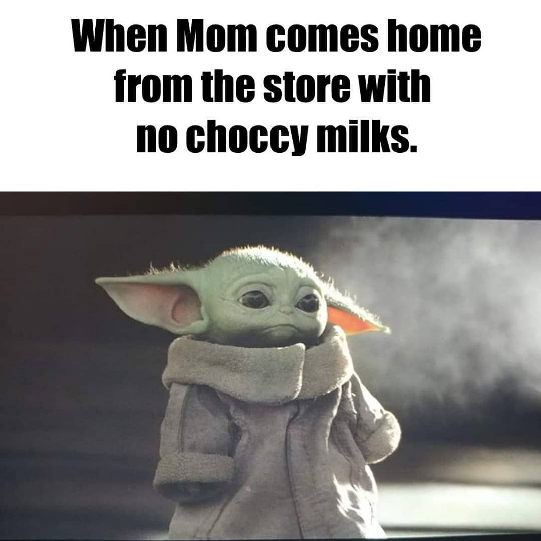 18 3k Likes 165 Comments Baby Yoda Babyyodda On Instagram Yoda Meme Funny Babies Star Wars Memes