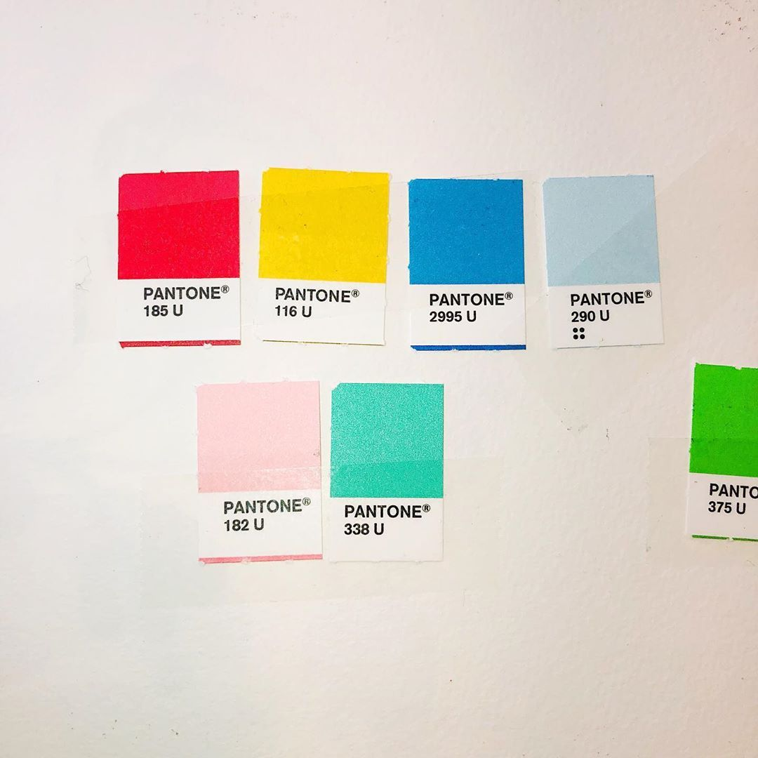 Christine Hughes On Instagram When Work Feels Like Play Pantone