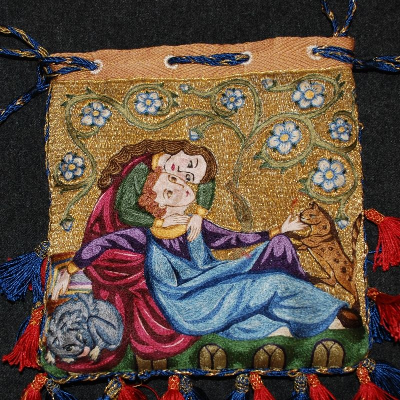 opusanglicanum | one Englishwoman's work. Medieval embroidery.