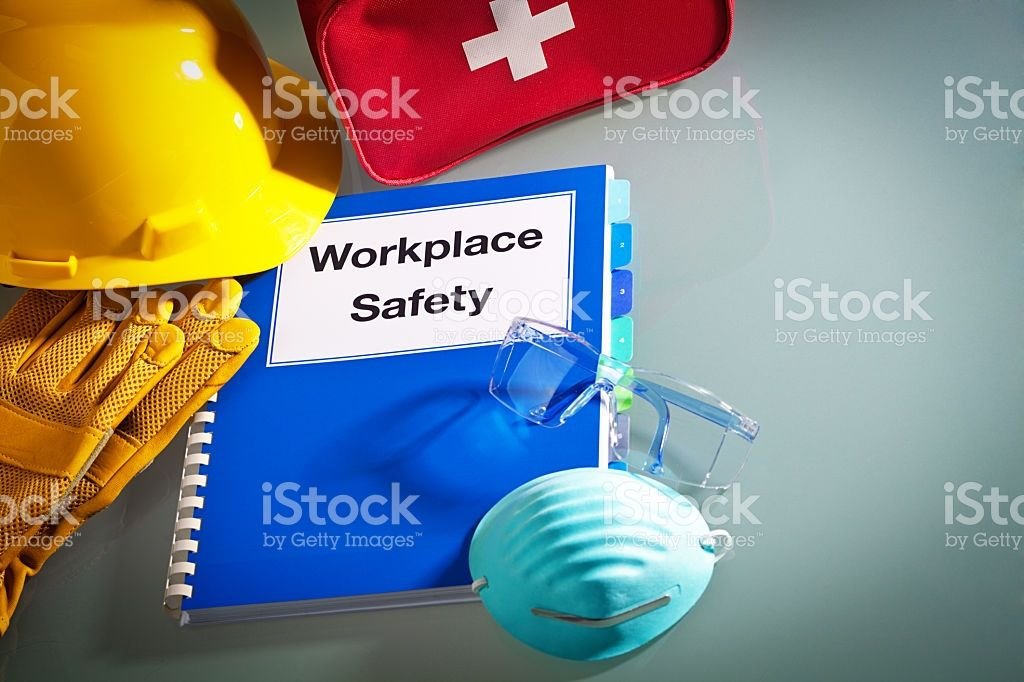 Workplace Safety Handbook Manual And Equipment A Red First Aid