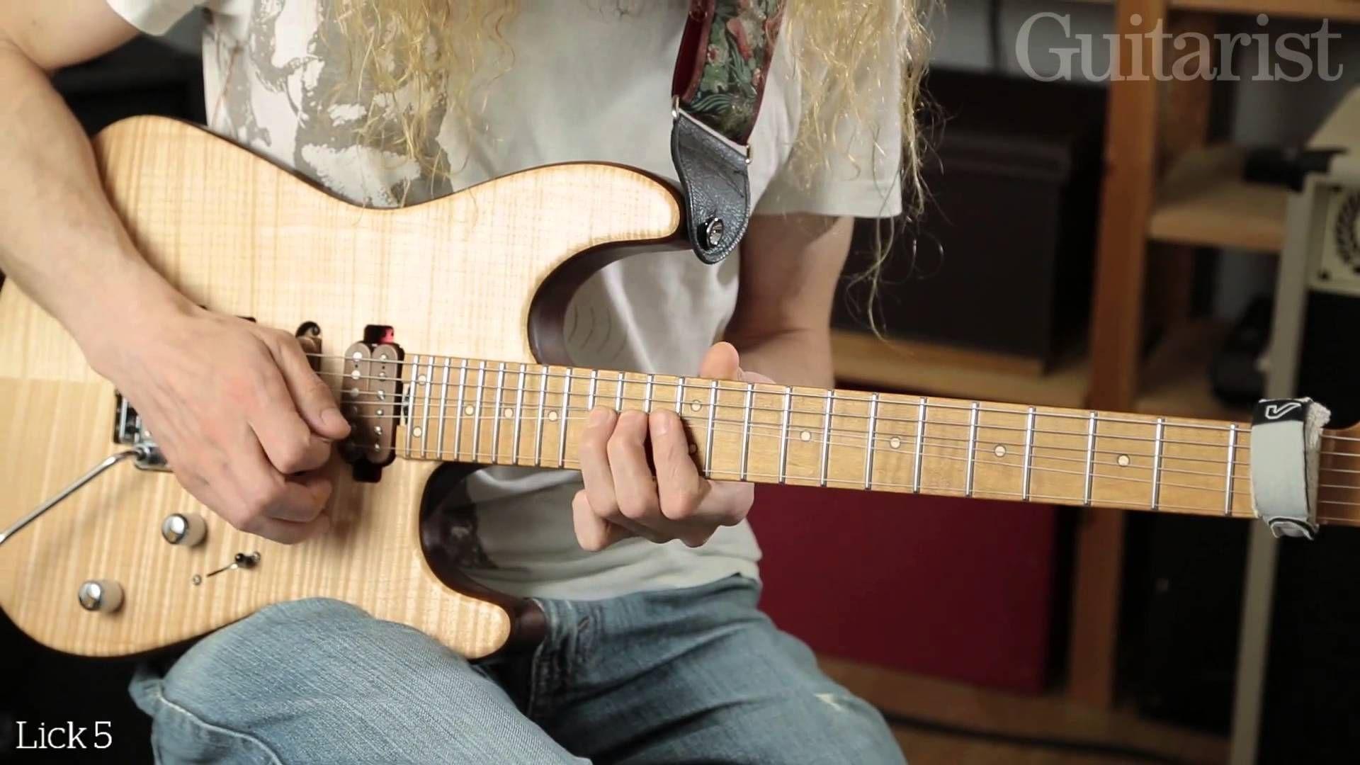 Guthrie Govan String Bending Masterclass - Part One