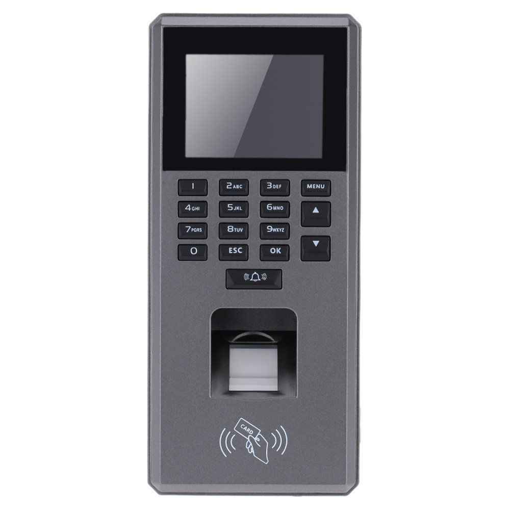 KKmoon Biometric Fingerprint \u0026 Keypad Door Access Control And Time Attendance Terminal Color Screen 2.4\   sc 1 st  Pinterest & KKmoon Biometric Fingerprint \u0026 Keypad Door Access Control And Time ...