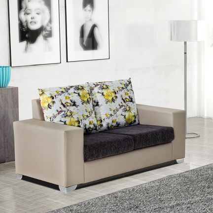 Furncoms Sofa Set 3 2 Beige And Grey All Sofas Sofa Set Best Sofa Sofa Furniture