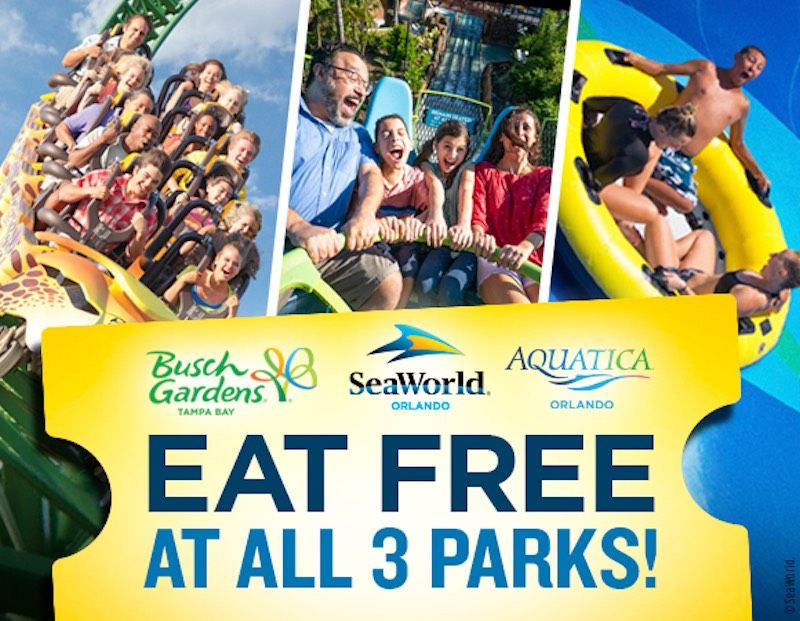 Back Sale at SeaWorld and Busch Gardens EDEALO