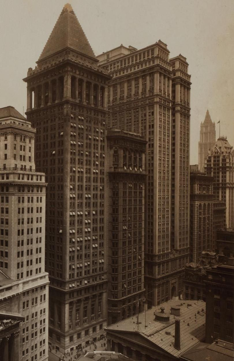 Bankers Trust Company 14 Wall St Historic Documentary Old