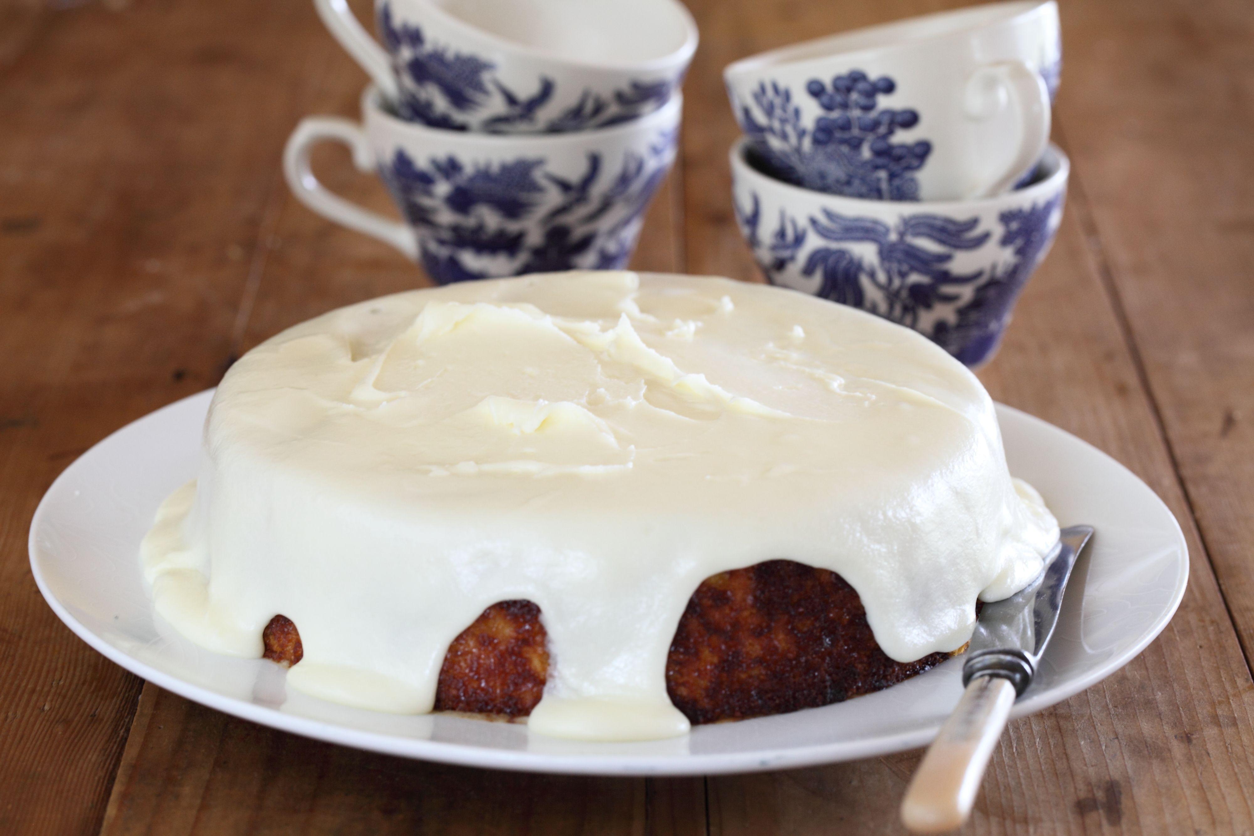 Orange Cake Icing Recipes: Orange Cake With Verjuice Icing - Maggie Beer