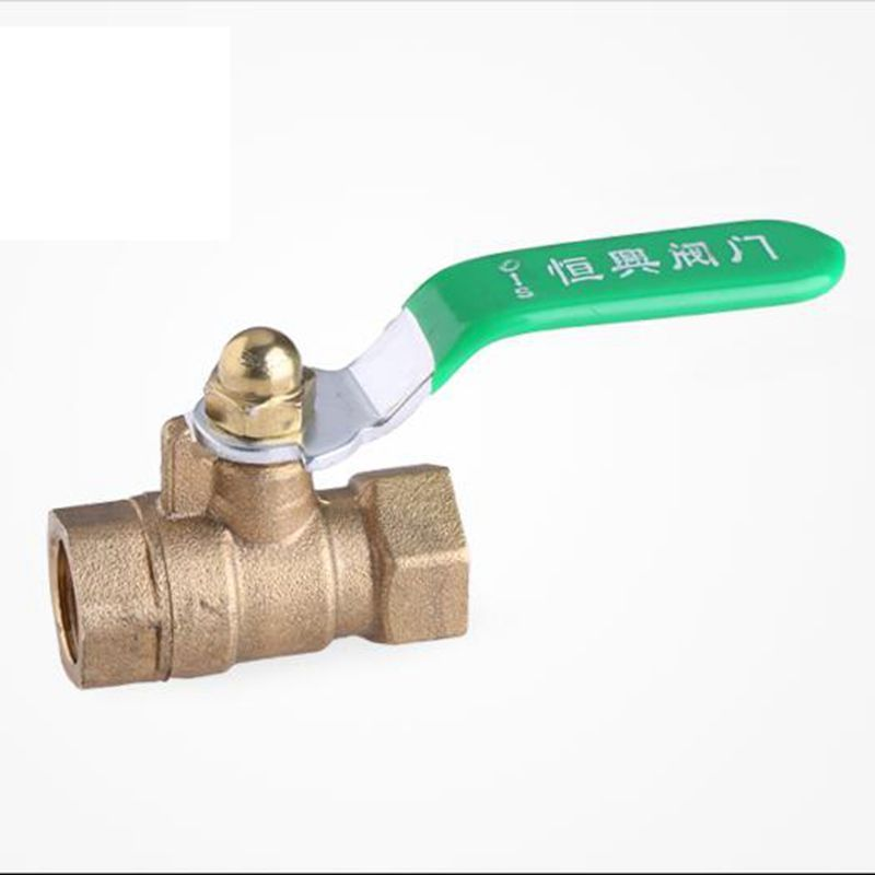 3 8 Female Thread Brass Ball Valve Full Port Extra Strong Thickwalls Copper Fitting For Water Gas Oil Control Oil Control Products Copper Fittings Valve