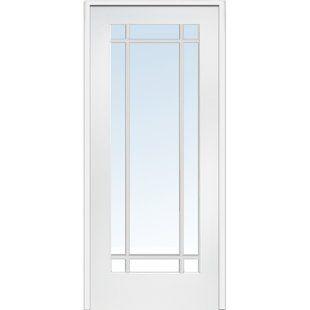 Etched Glass Door Wayfair Glass French Doors Prehung Interior Doors