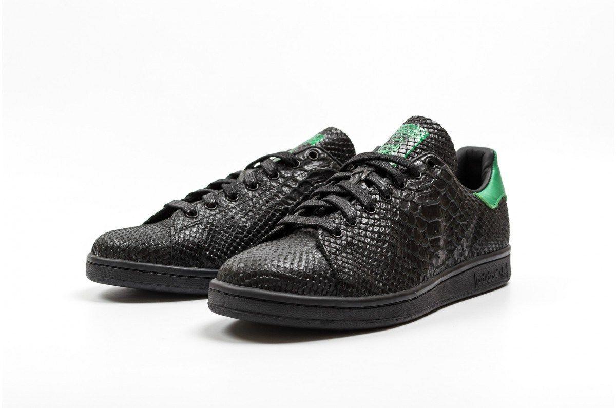 Stan Smith Adidas Black Snake