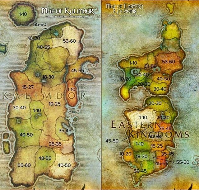 Which zone(s) are you looking forward to leveling/questing