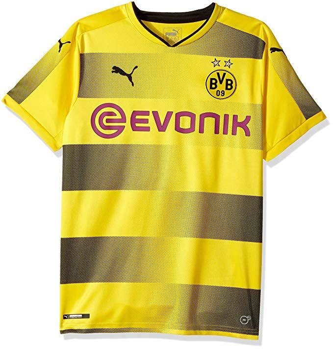 3ab21fa34 PUMA Men s BVB Home Replica Shirt with Sponsor Logo Review
