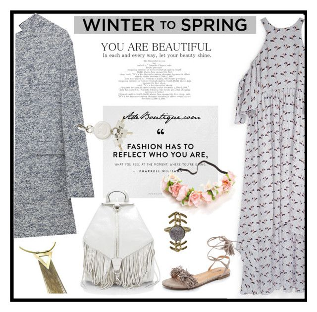 """""""Winter to Spring Layers"""" by adeboutique ❤ liked on Polyvore featuring Rebecca Minkoff, Zara, Matiko and Alexander Wang"""