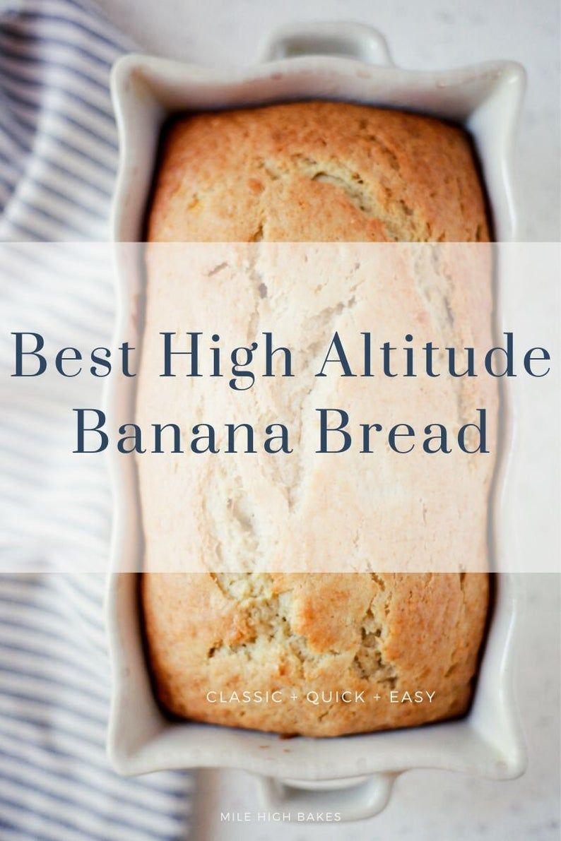 Best banana bread high altitude recipe digital recipe pdf