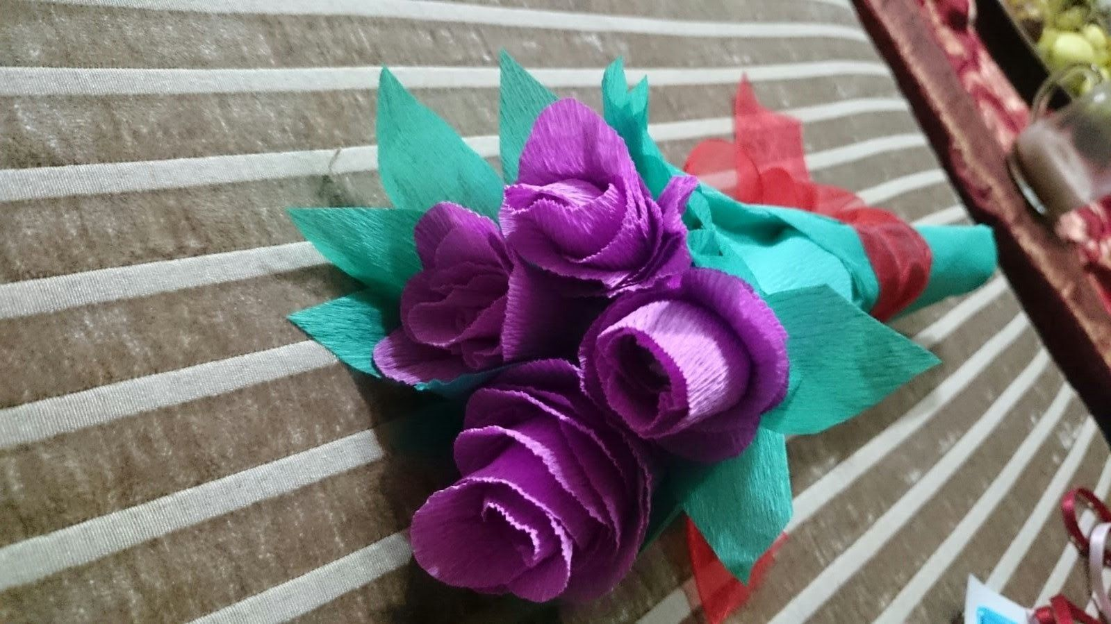 How to Make a Chocolate Flower Bouquet - DIY - Tutorial . | CANDY ...