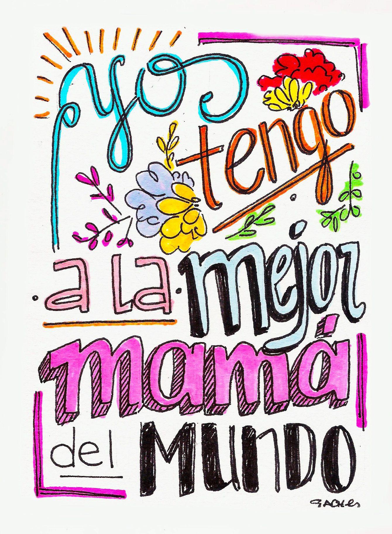 Pin de Andrea Sanz en Ideas | Pinterest | La mejor mamá, Feliz día ...