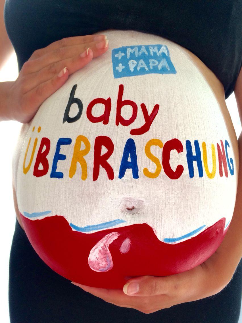 Babybauch Bemalung Vika Baby