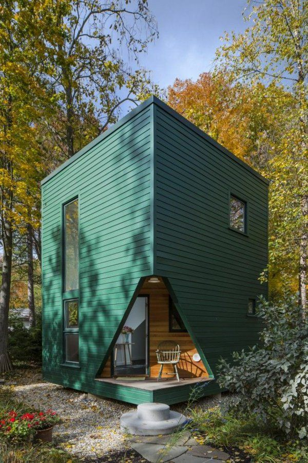 Preiswerte außergewöhnlich design minihäuser moderne architektur