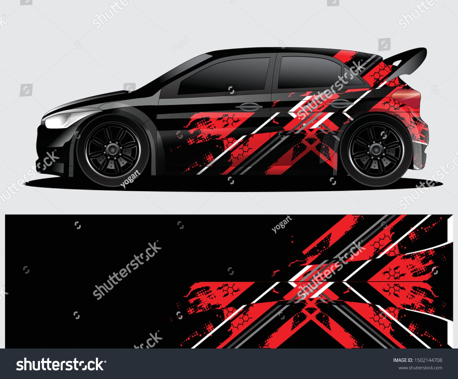 Rally Car Decal Graphic Wrap Vector Abstract Background Rally Car Car Decals Car Wrap Design [ 1242 x 1500 Pixel ]