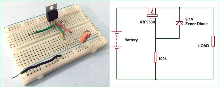 Reverse Polarity Protection Circuit Circuit Electronics Circuit Electronics Apple