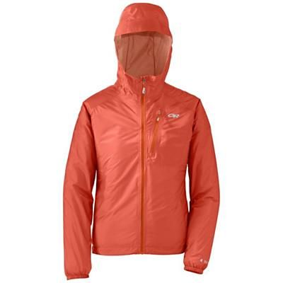 Women's lightweight running rain jacket