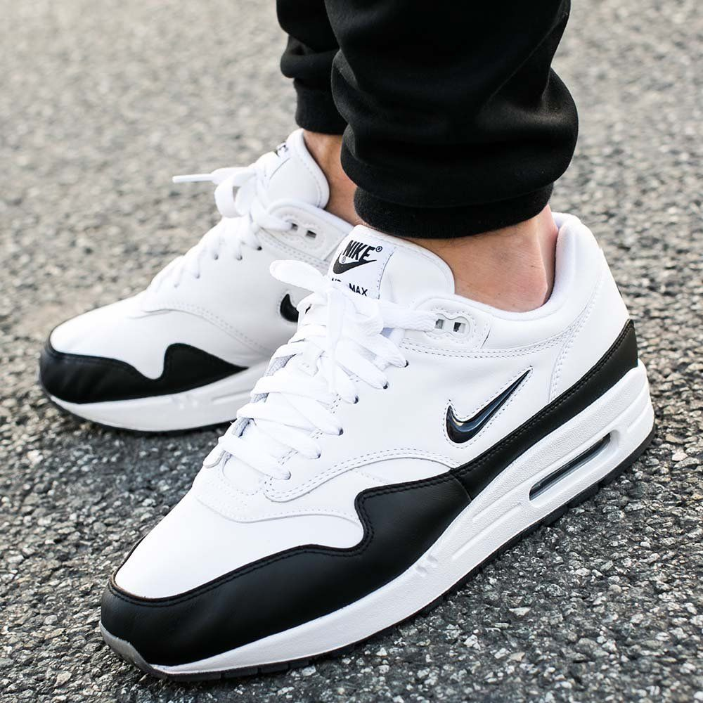 Nike Air Max 1 Jewel Black White 918354 100 Release Date