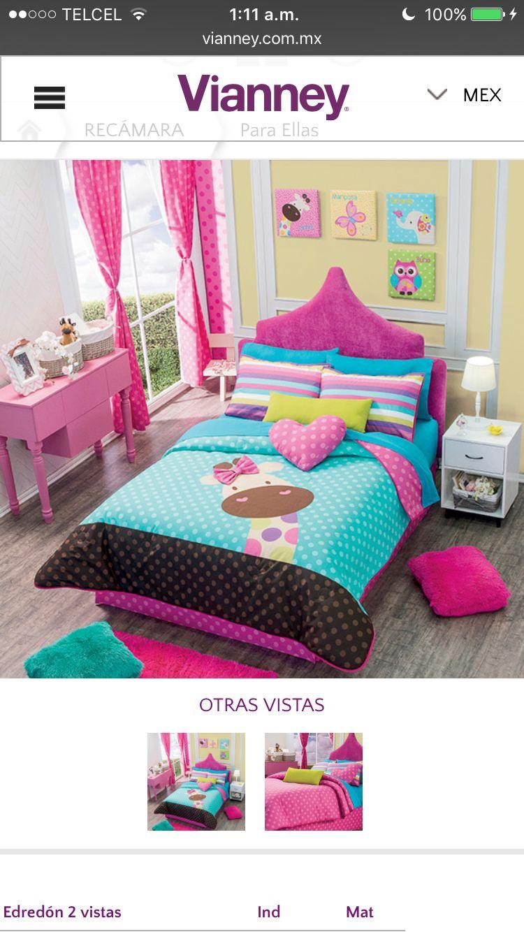 Edred n vianney cortinas cuarto de ni a habitaciones for Decoracion habitacion nina de 6 anos