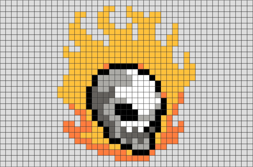 Ghost Rider Pixel Art Brik Pixel Art Designs Pixel Art