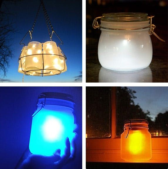 Create A Prism Candle Light Diy Mason Jar Crafts Diy Projects Mason Jar Crafts Diy Jar Crafts Mason Jar Diy