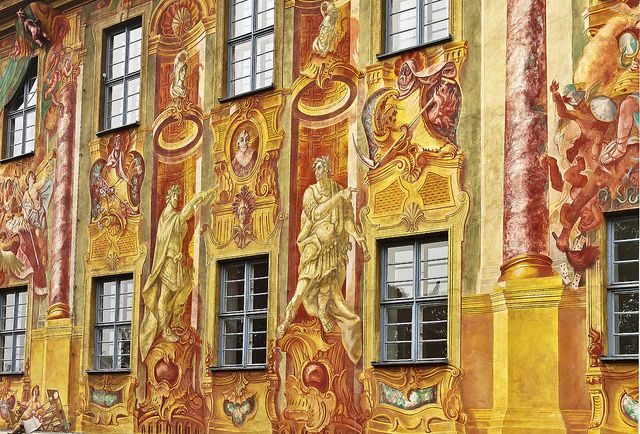 Town Hall Wall - Bamberg, Germany.