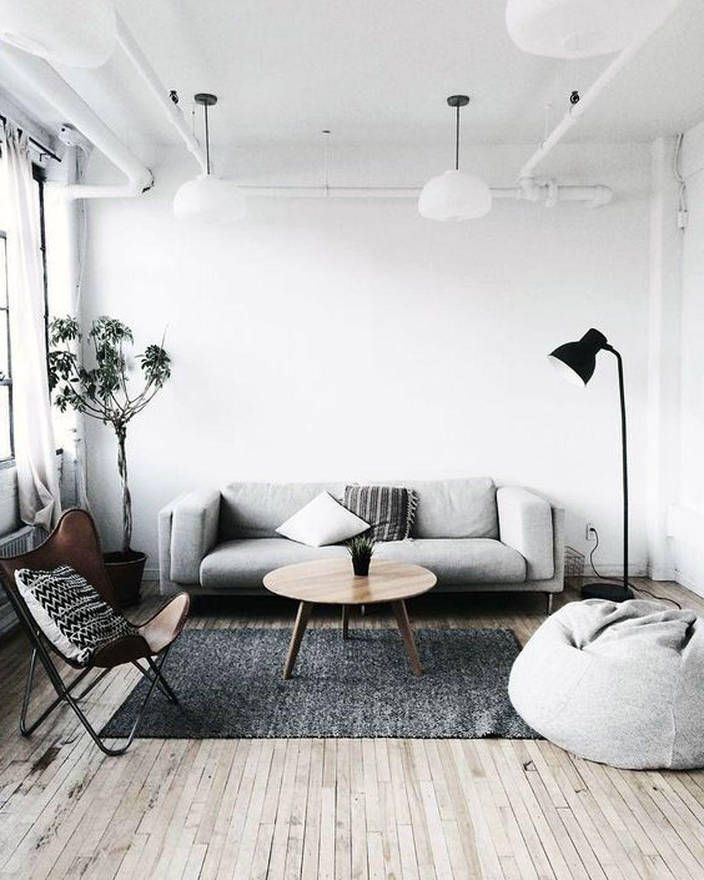 39 Fancy Minimalist Scandinavian Living Rooms Designs In