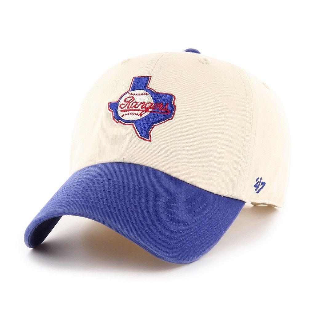 buy online 40042 99125 Adult  47 Brand Texas Rangers Natural Clean Up Adjustable Cap, Multicolor