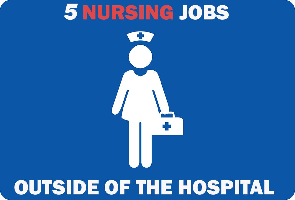 """5 Nursing Jobs Outside of the Hospital."""