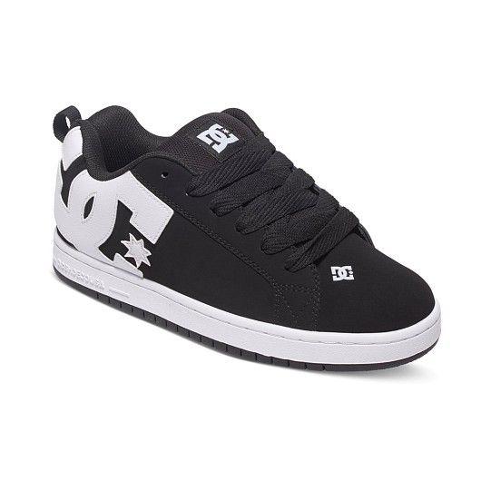 364d39520f402 Zapatillas de la marca DC Shoes Court Graffik Black para hombre y mujer.