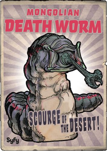 syfy mm mongolian death worm by randoman92deviantartcom on deviantart
