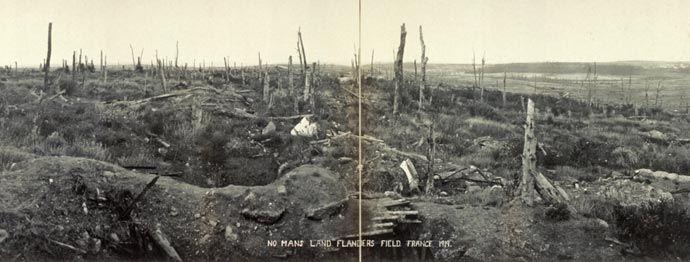 Image result for western front no man's land | World war i, No ...