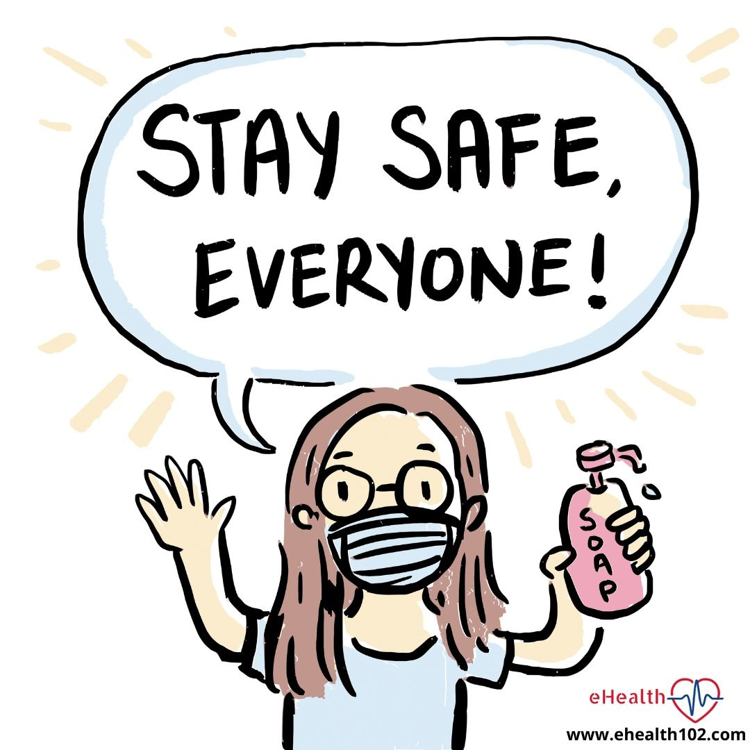 stay safe, take care and follow the precaution. in 2020