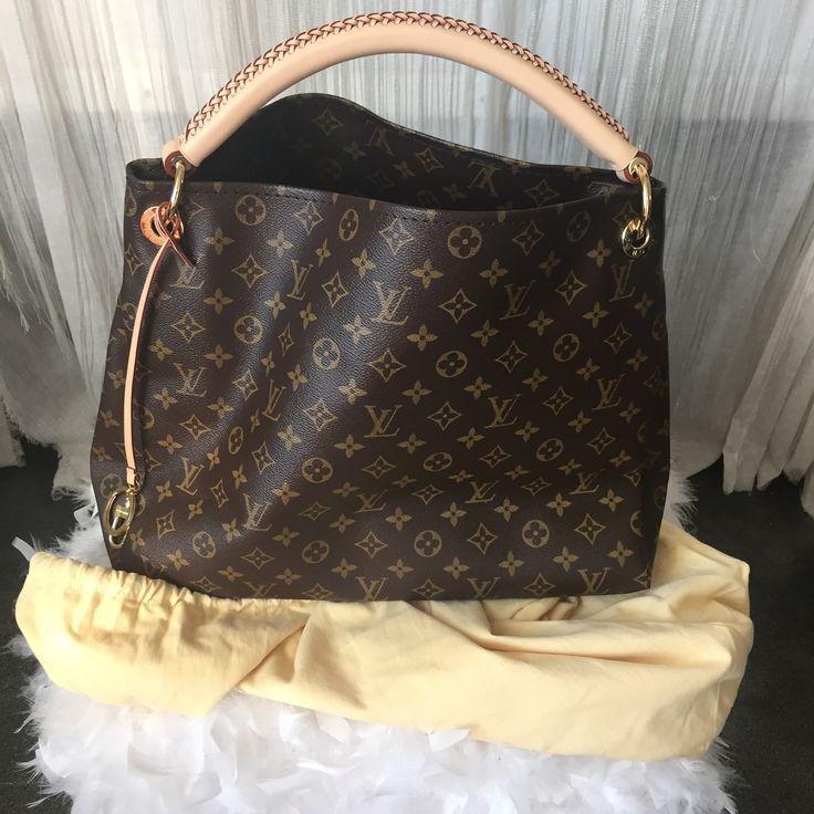 Used Louis Vuitton Purses >> Authentic Never Used Louis Vuitton Artsey Mm Handbag