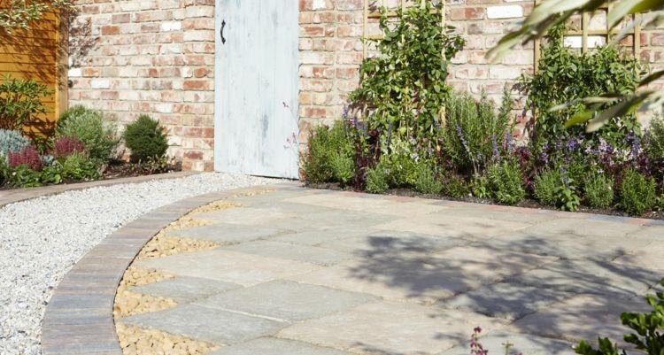 Fabulous terrassenplatten reinigen und versiegeln hausmittel stein FO47