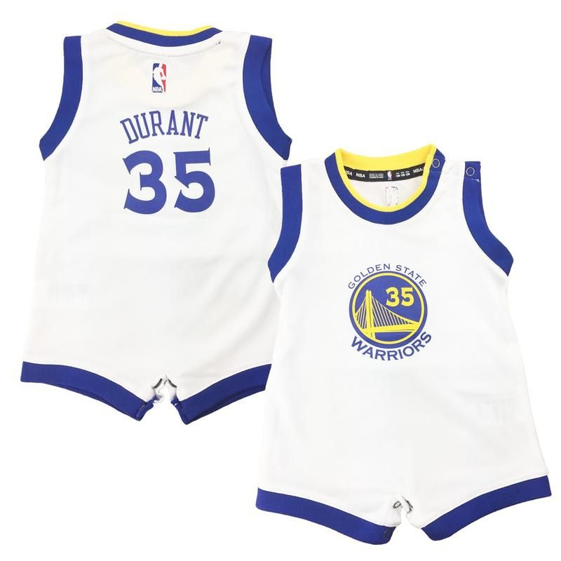 f554b760ae9 Kevin Durant Infant Jersey Romper | Golden State Warriors Baby ...