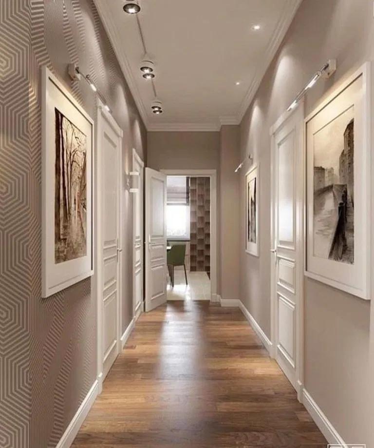 35 Alluring Floor Ideas You Must Have Flooring Interior Design Corridor Design Home Interior Design House Design