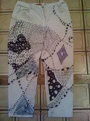Zentangle jeans my friend Nancy did! How cool are these!?!?