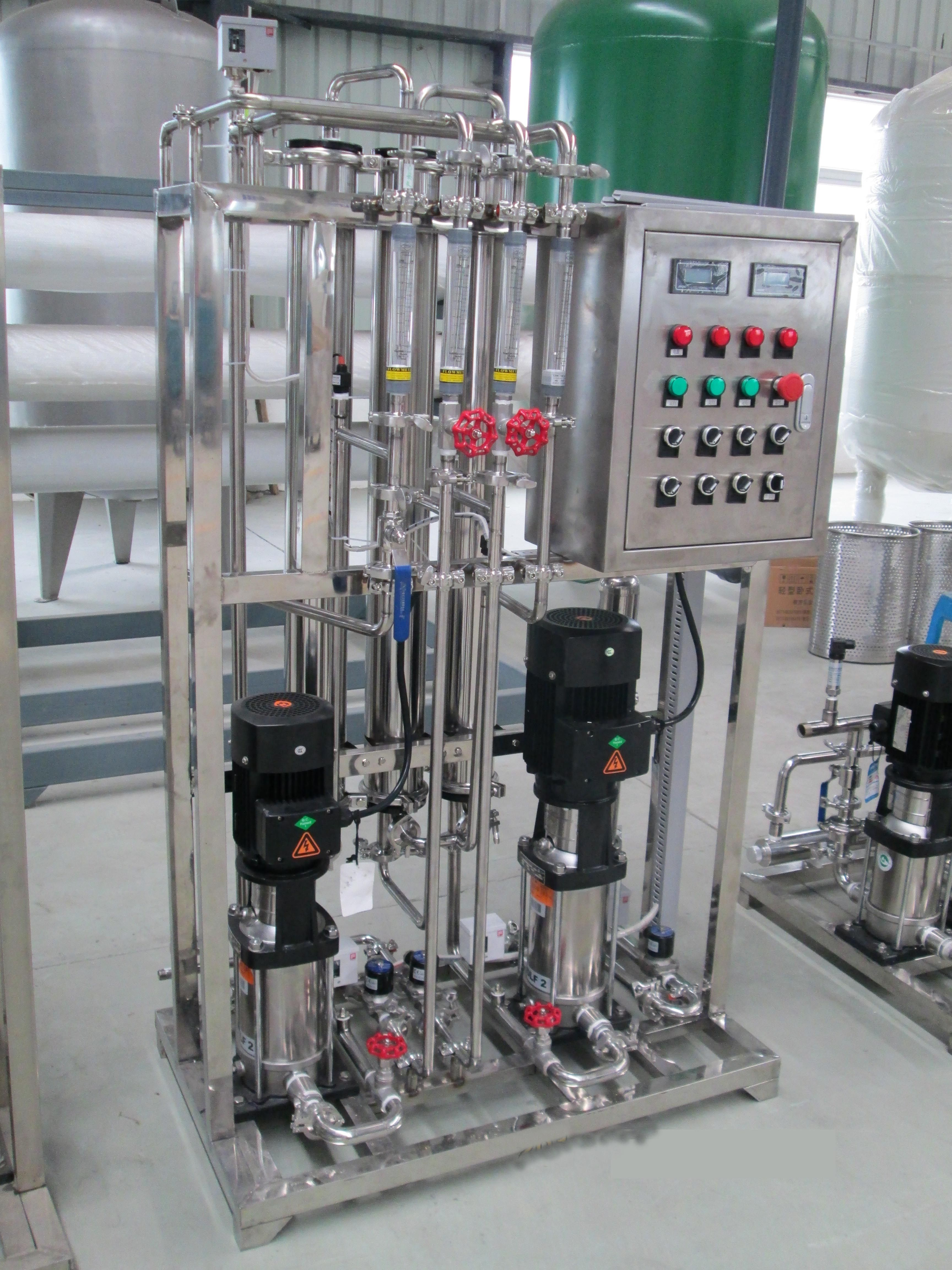 Industrial Ro Water Purification Machine With Small Capacity Water Treatment Plant Rain Water Collection Water Treatment